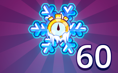 Time Freeze 60 Badge - Pogo Daily Sudoku