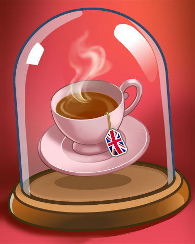 Cuppa Tea Badge - Postcards From Britain