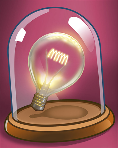 Bright Ideas Badge - A Way With Words
