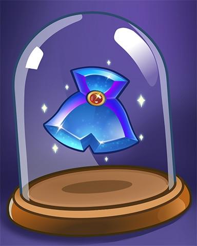 Jeweled Cowl Badge - Bejeweled Stars