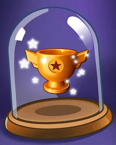 Star Trophy Badge - Bejeweled Stars