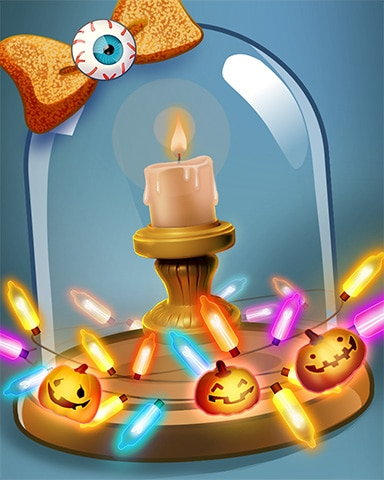 Candlelight Reading Badge - Bookworm HD