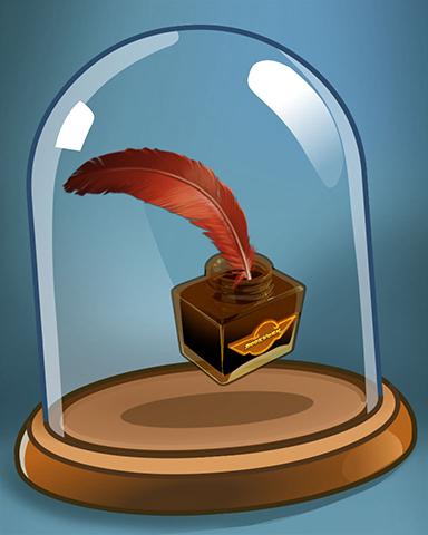 Lex's Ink Badge - Bookworm HD