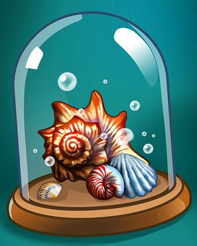 Spell Shells Badge - Crossword Cove HD