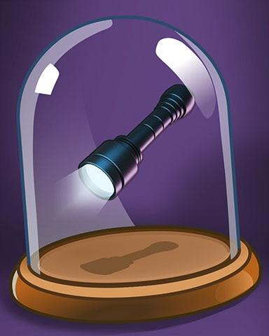 Faithful Flashlight Badge - Claire Hart: Secret In The Shadows