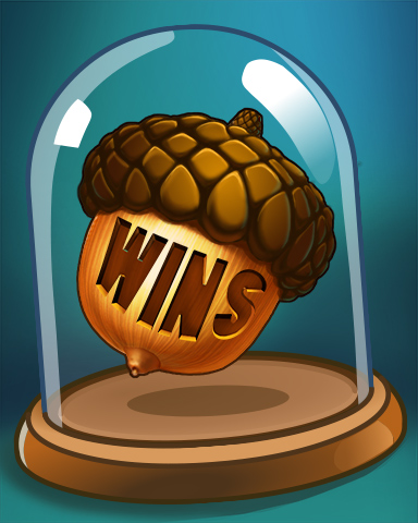 Winning Acorn Badge - Everyone Wins Bingo
