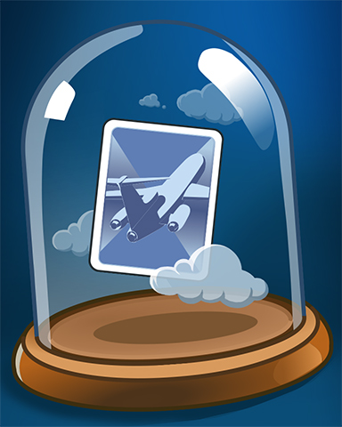 Sky-High Card Badge - First Class Solitaire HD