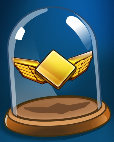 Diamond Wings Badge - First Class Solitaire HD