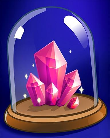 Crystal Cluster Badge - Jewel Academy