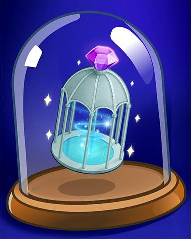 Gazebo Fountain Badge - Jewel Academy