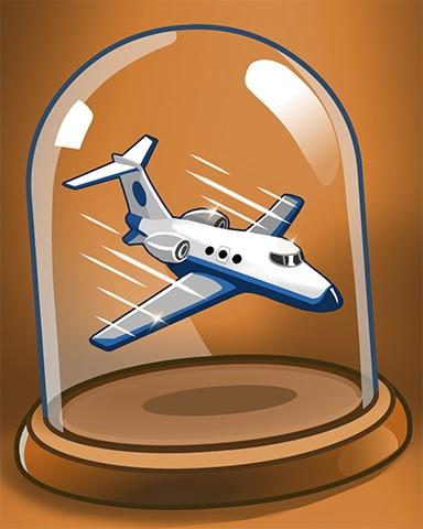 Fast Flight Badge - Jet Set Solitaire