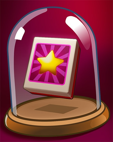 Splendid Star Tile Badge - Mahjong Safari HD