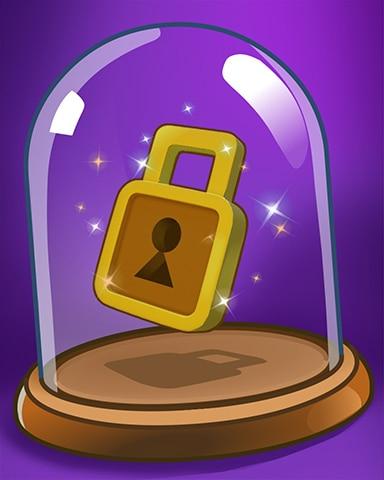 Locked For Now Badge - Poppit! Bingo