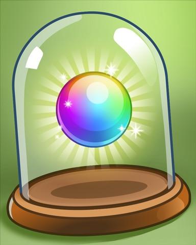 Rainbow Ball Badge - Peggle Blast HD