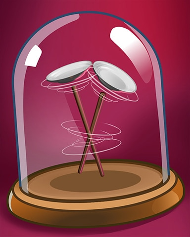 Spinning Plates Badge - Payday Freecell HD