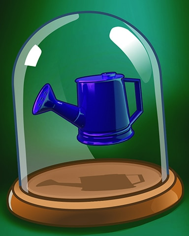 Spike's Watering Can Badge - Poppit! Party