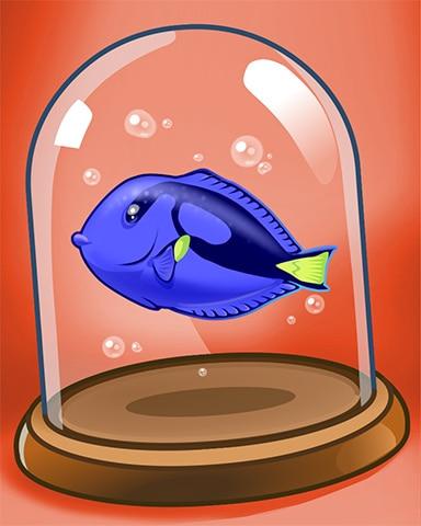 Surgeon Fish Badge - Quinn's Aquarium