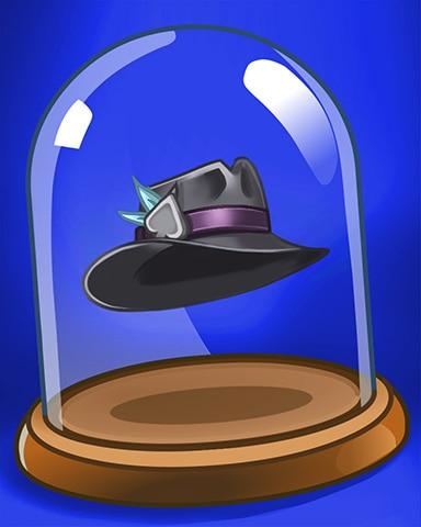 Hound Dog Hat Badge - Spades HD