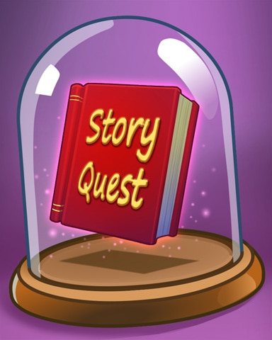 Book Of Quests Badge - StoryQuest