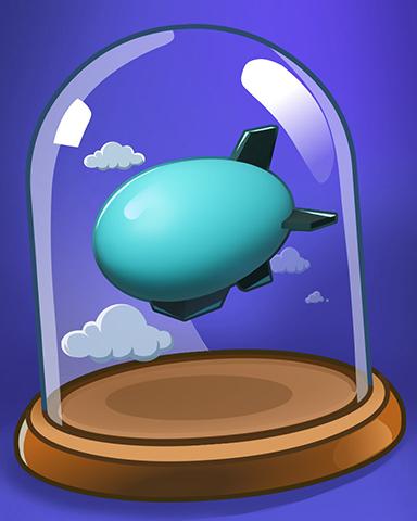 Bubble Blimp Badge - Snowbird Solitaire