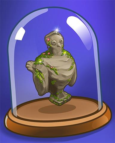 Ptarmigan Statue Badge - Snowbird Solitaire