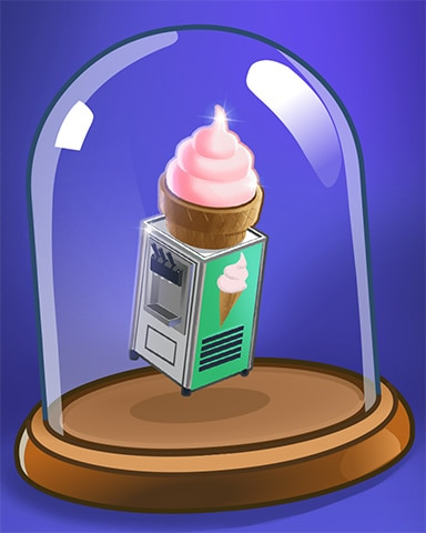 Ice Cream Machine Badge - Snowbird Solitaire