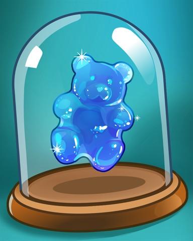Little Blue Bear Badge - Sweet Tooth Town
