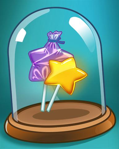 Sugar Stars Badge - Sweet Tooth Town