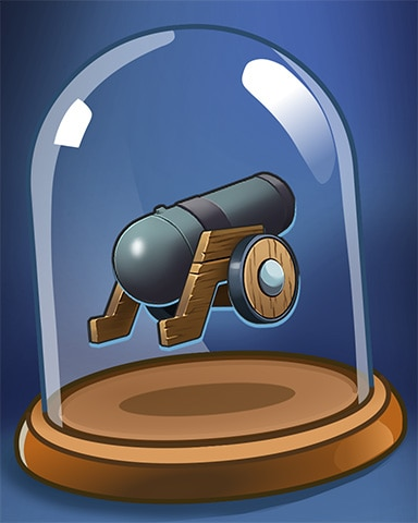 Cannons Ready Badge - Thousand Island Solitaire HD