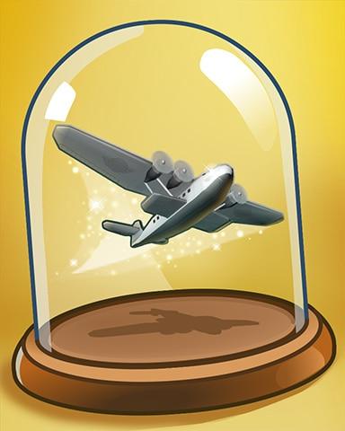 Taking Flight Badge - World Class Solitaire HD