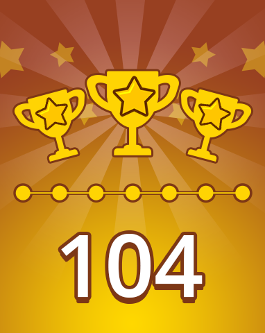 Weekly Special 104 Badge - Pogo Daily Sudoku