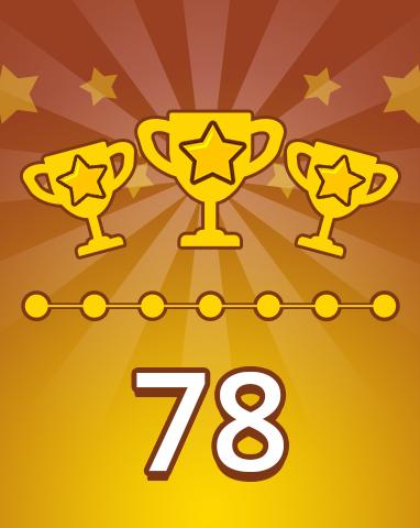 Weekly Special 78 Badge - Pogo Daily Sudoku