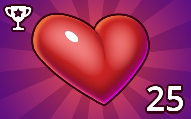No Mistake Weekly Special 25 Badge - Pogo Daily Sudoku