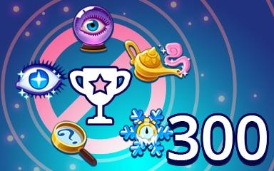No Power-ups Weekly Special 300 Badge - Pogo Daily Sudoku