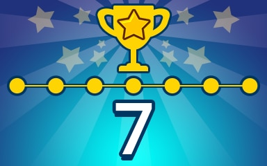 Weekly Special Puzzle 7 Badge - Pogo Daily Sudoku