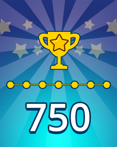 Weekly Special Puzzle 750 Badge - Pogo Daily Sudoku
